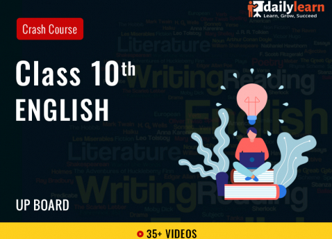 Class 10th - English - Crash Course - UP Board