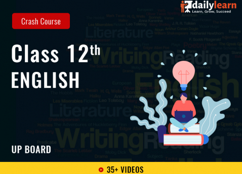 Class 12th - English - Crash Course (Including IIT & NEET Foundation) - UP Board