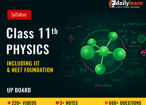 Class 11th - Physics - Syllabus Videos (Including IIT & NEET Foundation) - UP Board