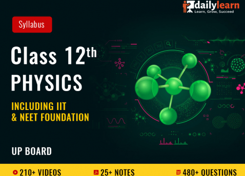 Class 12th - Physics - Syllabus Videos (Including IIT & NEET Foundation) - UP Board