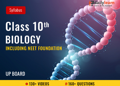 Class 10th - Biology - Syllabus Videos (Including NEET Foundation) - UP Board