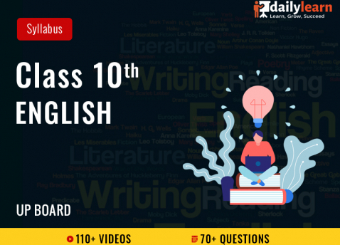 Class 10th - English - Syllabus Videos - UP Board